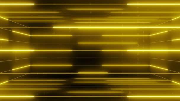 abstraktní linie s smyčky matice text pohybu 4k