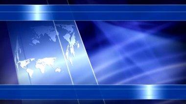 World News Background Stock Video