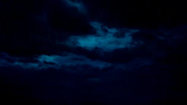 Bouřky a blesky pruh