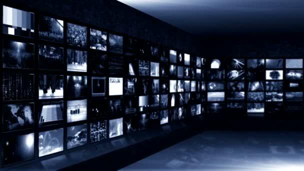 videó képernyők a hírek