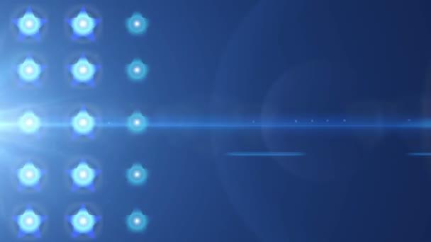 verlichting sterren bollen — Stockvideo © celalbulus #77380291