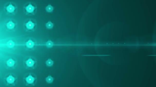 verlichting sterren bollen — Stockvideo © celalbulus #77380473