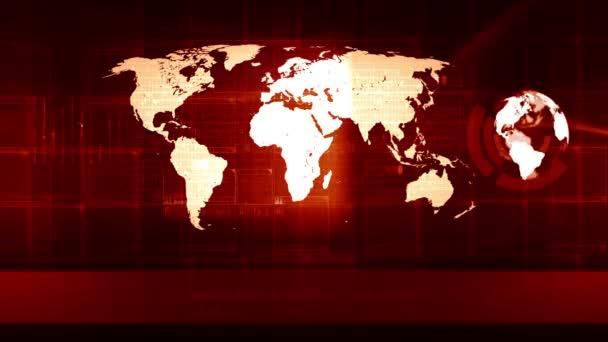 Globální mapa světa