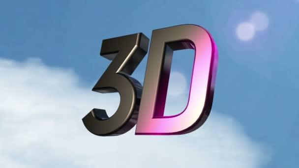 bewegliche 3d Symbol