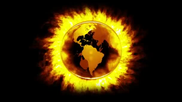 yellow Fire Globe