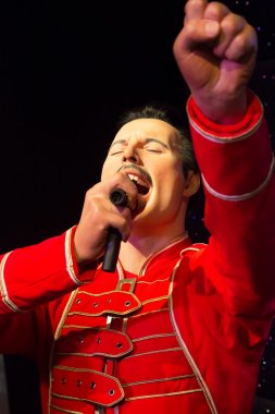 Freddy Mercury in Madame Tussauds Museum of London