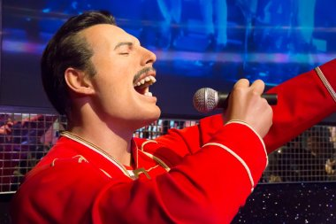 Freddy Mercury in Madame Tussauds of London