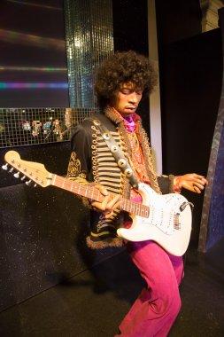 Jimi Hendrix in Madame Tussauds of London