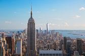 pohled na Empire státu Building  Manhattan