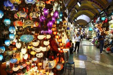 Light store in Grand Bazaar of Istanbul
