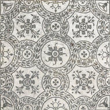 Ancient roman mosaic in Tivoli