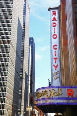Sign of Radio City Music Hall