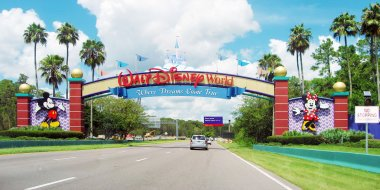 Entrance of Walt Disney World