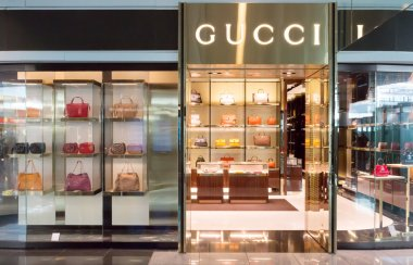 Gucci store in Munich airport