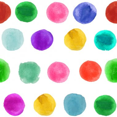 seamless texture, Vector Poster Templates with Watercolor Paint Splash.