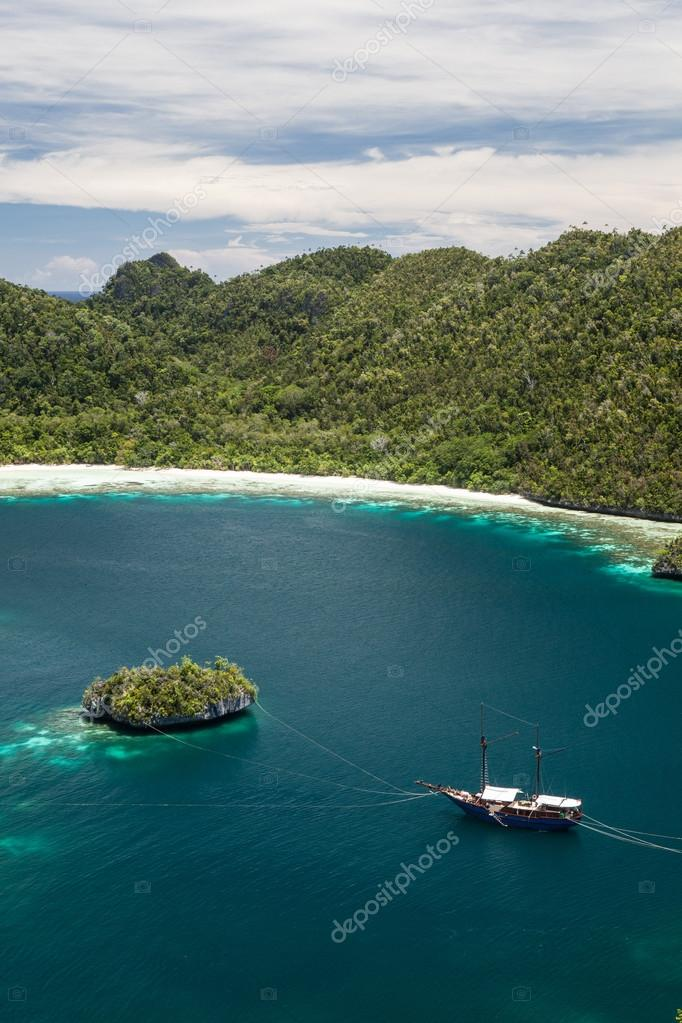 Tropical Limestone Islands in Raja Ampat