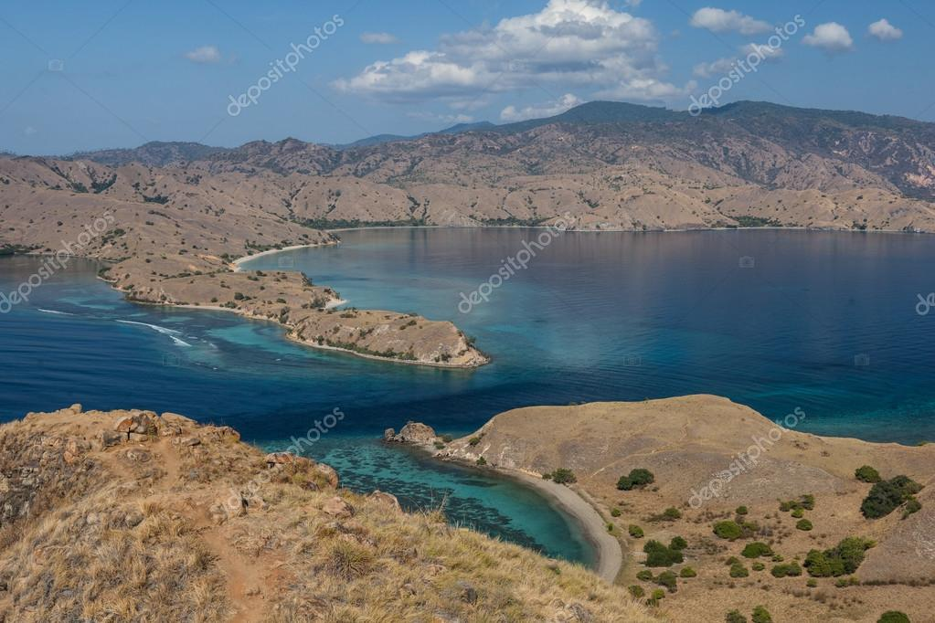 Overlook in Komodo National Park, Indonesia