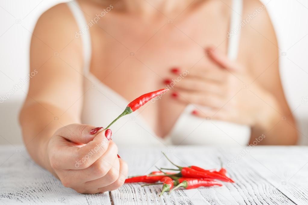 Piros forró szex