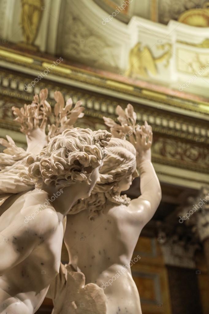Daphne And Apollo Bernini Sculpture — Stock Photo © Sid10