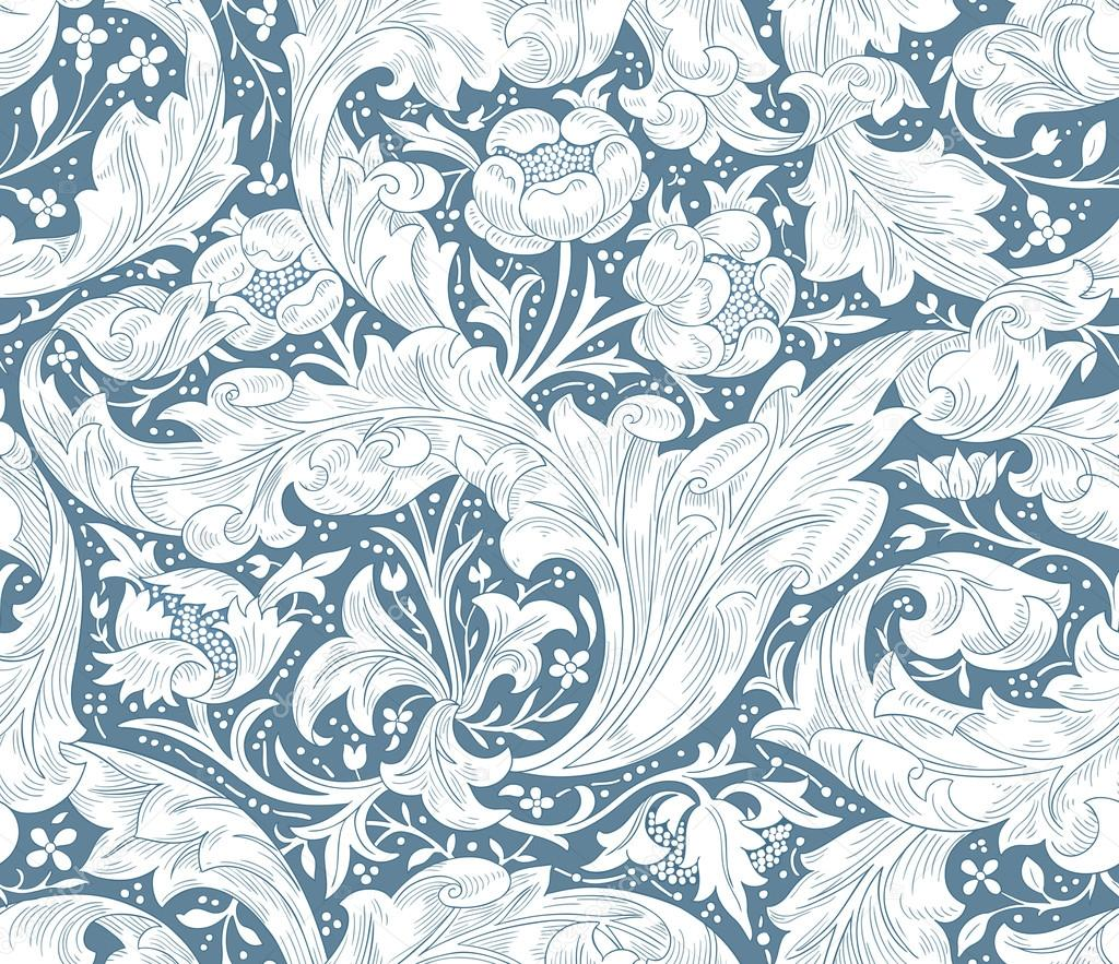 Modern Seamless Pattern For Your Design Modern Floral Seamless