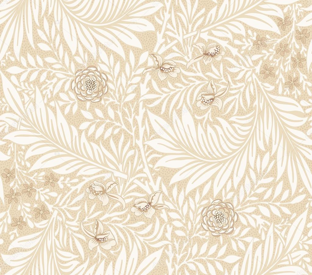 Modern fabric design pattern. Desktop wallpaper. Background. Floral pattern for your design. Illustration. Modern seamless pattern for interior decoration, wrapping paper, graphic design and textile.