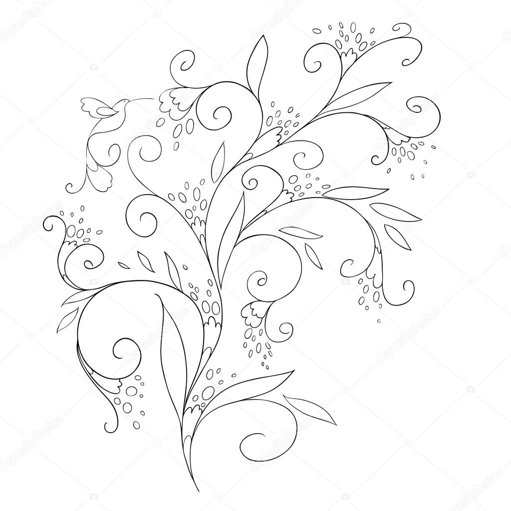 Beautiful pattern for your design. Traditional Arabic pattern. Coloring. Vector. Background.