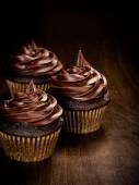 Fényképek csokoládé cupcakes