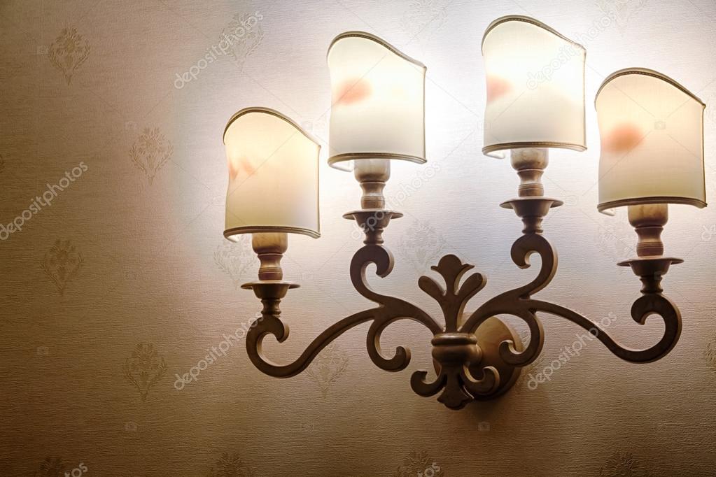 Bella lampada barocco u2014 foto stock © milkare #95027752