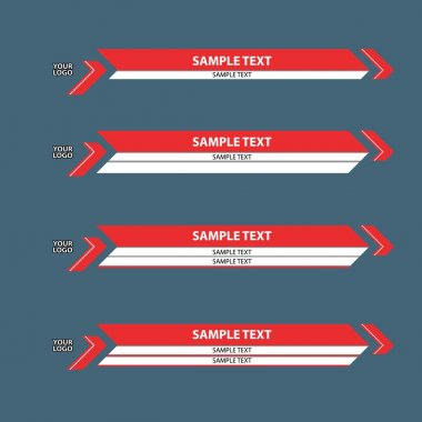 lower third banner bar screen broadcast
