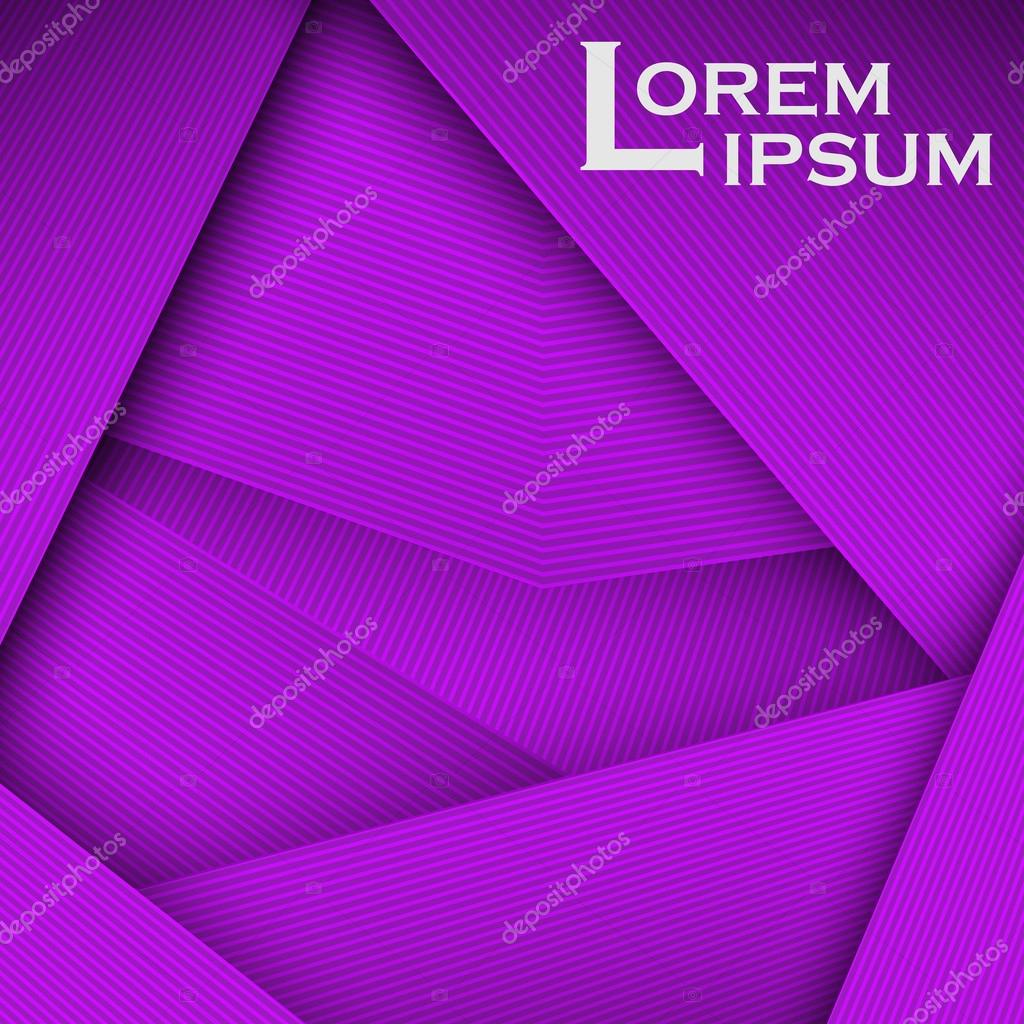 purple abstract line card background use for posters covers
