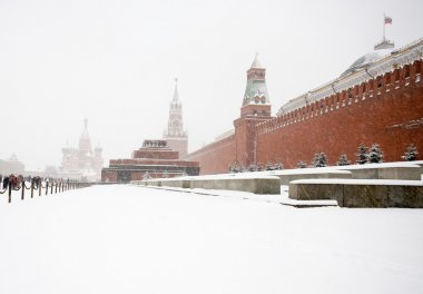 Russia Moscow Winter