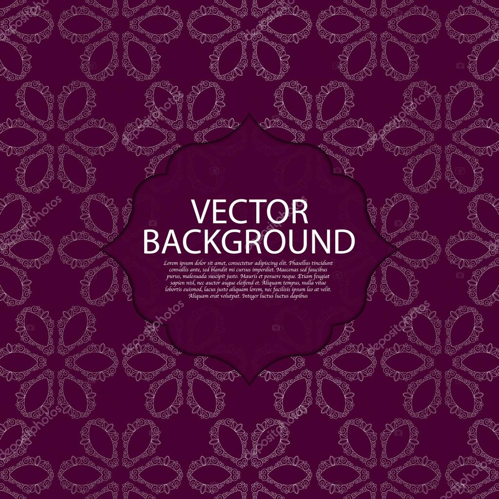 Vector illustration of a modern linear pattern invitation vetor de vector illustration of a modern linear pattern invitation vetor de stock stopboris Choice Image