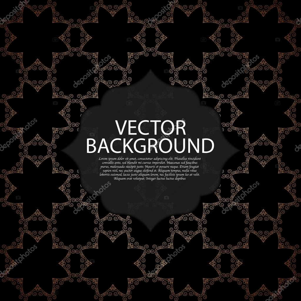 Vector illustration of a gold line background invitation vetor de vector illustration of a gold line background invitation vetor de stock stopboris Image collections