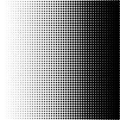 Fényképek vektoros illusztráció a halftone minta