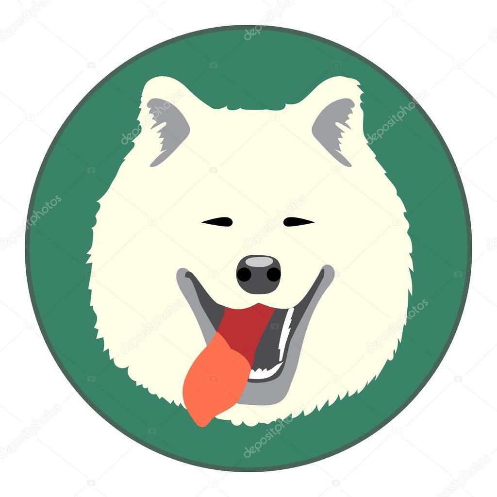ᐈ Samoyed Cartoon Stock Vectors Royalty Free Samoyed Illustrations Download On Depositphotos