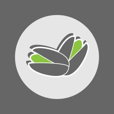 Pistachios Flat Icon