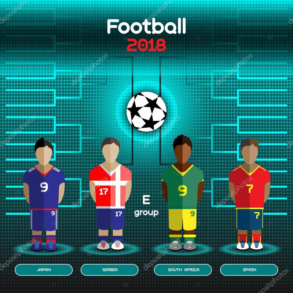 Испания япония футбол