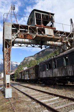 Old Train in Canfranc