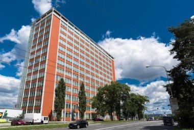 Architectural Design of Administrative Building No. 21 in Zlin, Czech Reublic