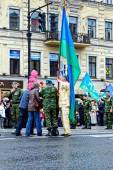 May 9 - Victory Day. St. Petersburg, Russia in 2014.