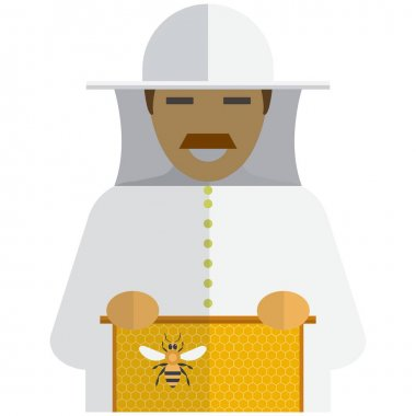Beekeeping Suit Free Vector Eps Cdr Ai Svg Vector Illustration Graphic Art