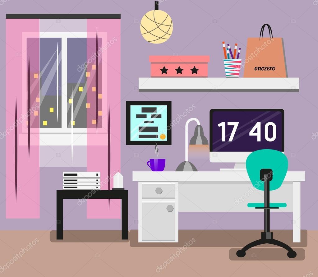 Lampe chambre coucher fashion designs for Chambre flat design