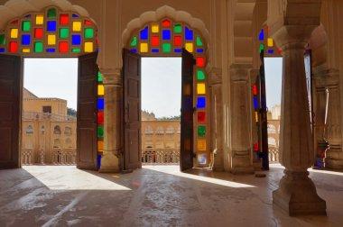 Hawa Mahal (Palace of the Winds) Jaipur, India stock vector