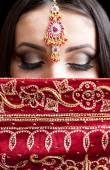 portrét krásné indické ženy