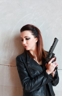 The lady and the gun