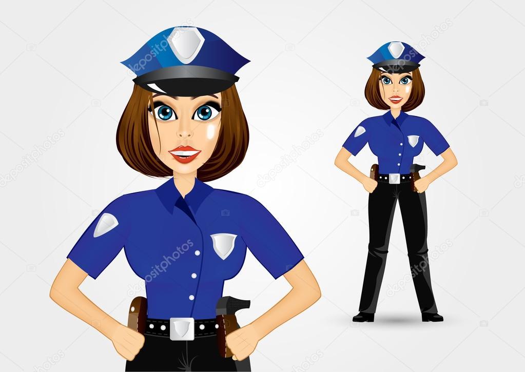 Картинки полиции для детей девушка