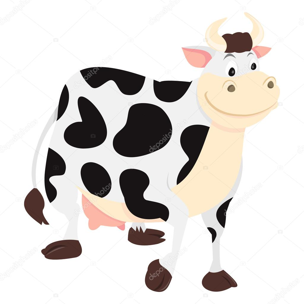 cartoon milk cow u2014 stock vector totallyjamie 71196783