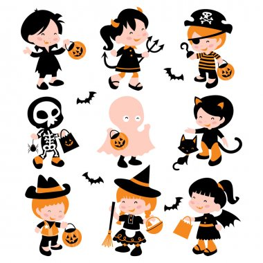 Halloween Trick Or Treat Kids