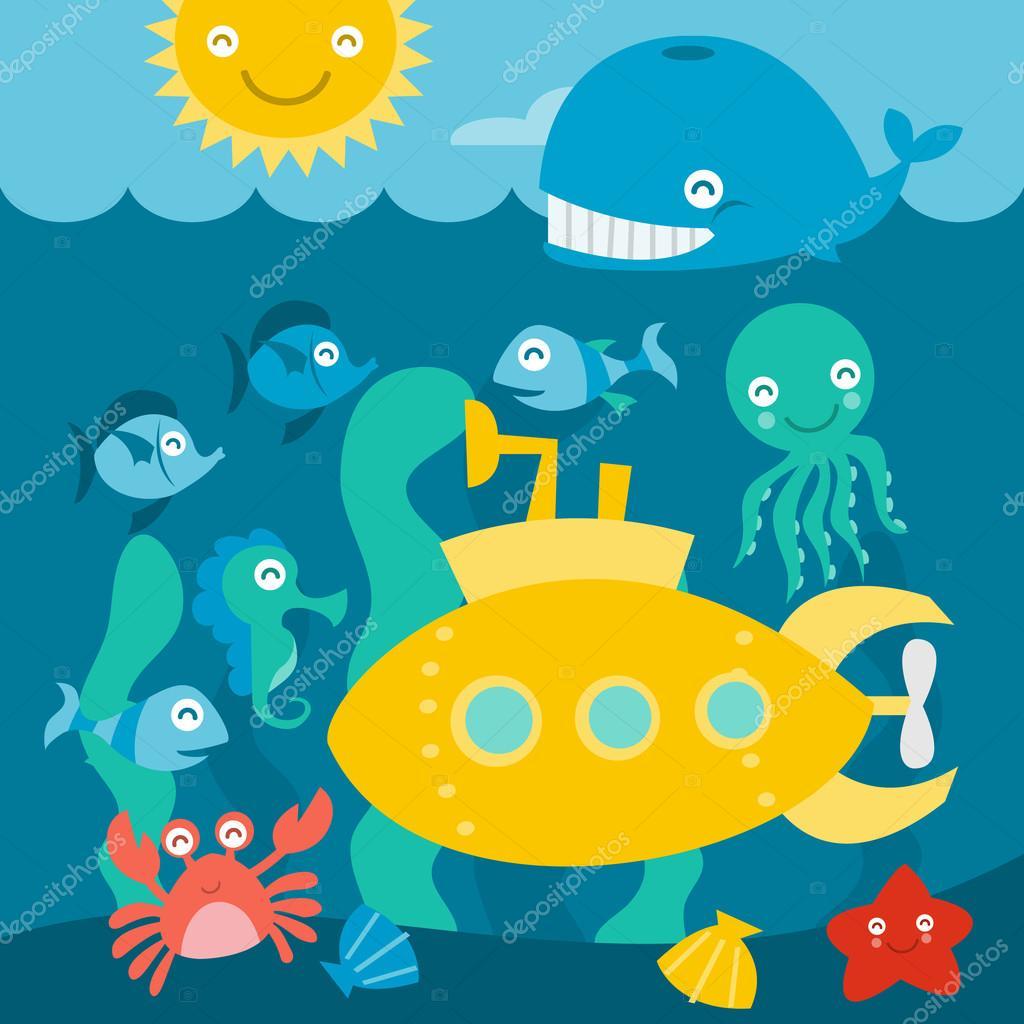 Submarine Exploration Adventure