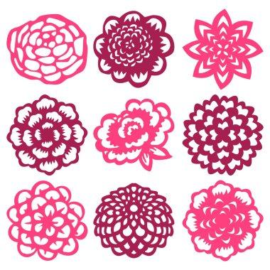 Floral Cut Out